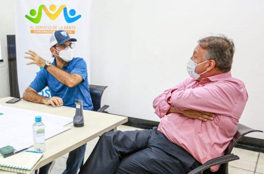 El Gobernador comprometido con el restablecimiento de los servicios en el Hospital de Villavicencio