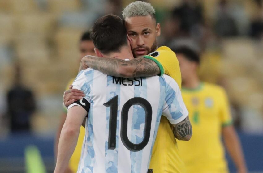 Messi anota triplete superando a Pelé y Neymar marca en triunfo de Brasil. Resumen de la jornada.