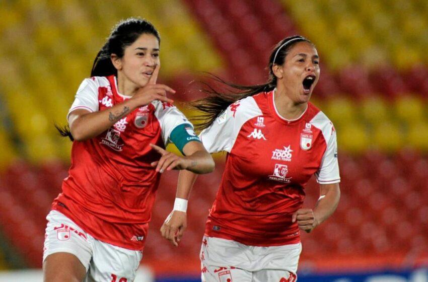 Santa Fe busca su tercer título femenino en la final con Deportivo Cali