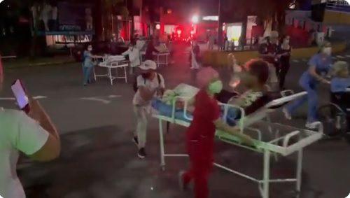 La solidaridad fue manifiesta con motivo del incendio registrado en el Hospital de Villavicencio