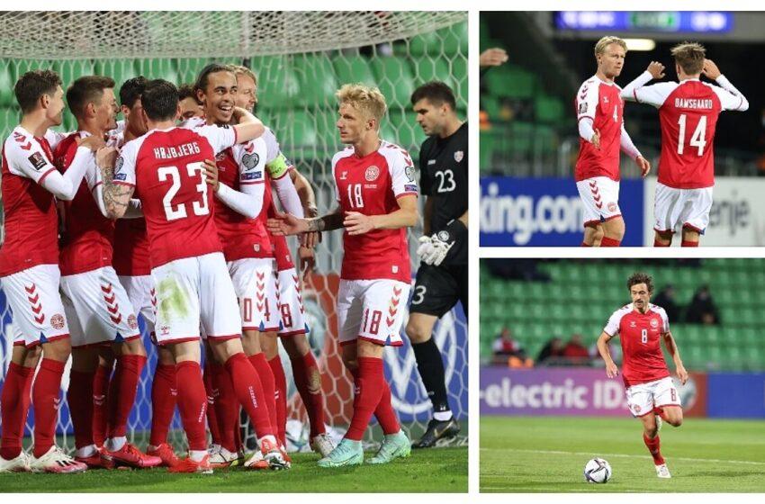 Dinamarca aseguró cupo para el Mundial. Aquí más resultados de las eliminatorias