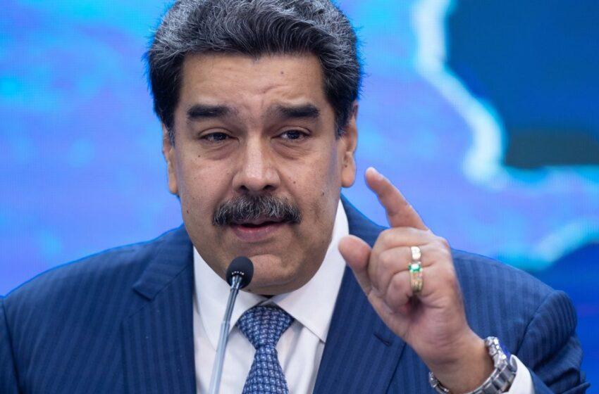 Maduro dice que evaluará el futuro del diálogo con oposición en México tras caso Saab