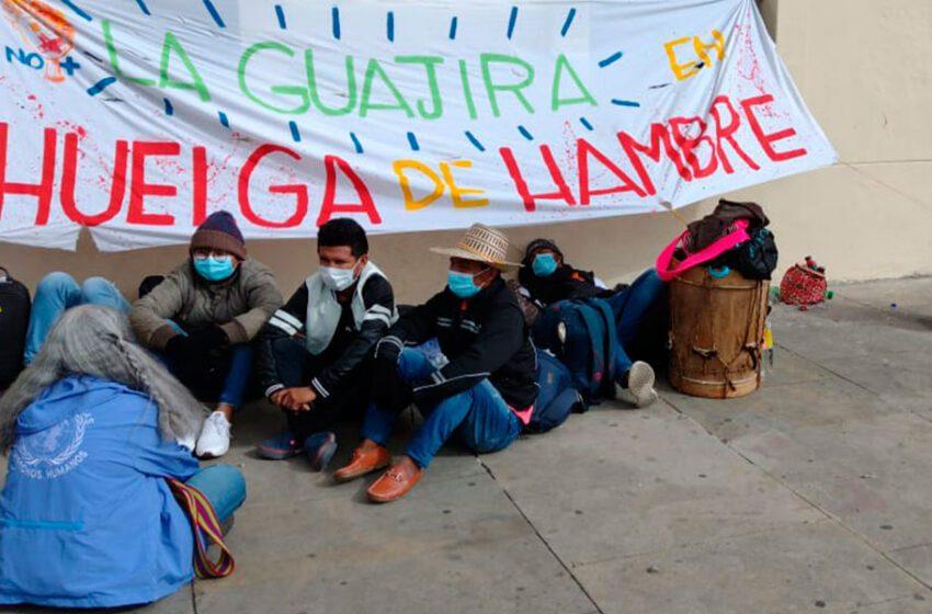 Con huelga de hambre, piden medidas para una región pobre de Colombia