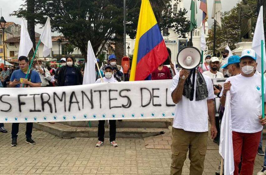 Excombatientes piden a las autoridades atender  preocupación de la ONU y evitar que los asesinen