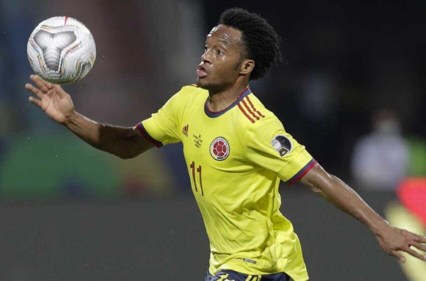 Cuadrado ve el partido contra Ecuador como «una final» para Colombia