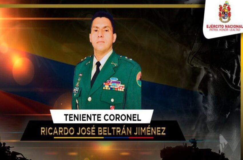 Doloroso para el ejército el asesinato del Coronel Beltrán señala Comandante de la Cuarta División
