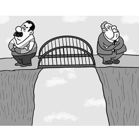 Abrieron el puente fronterizo (El Tiempo)