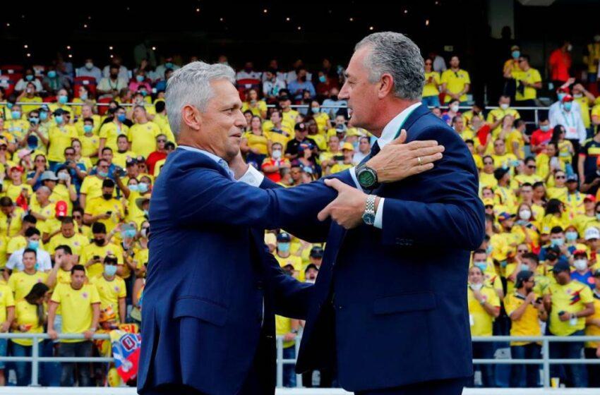 El juego con Colombia fue «una batalla muy dura, muy áspera», dice Alfaro